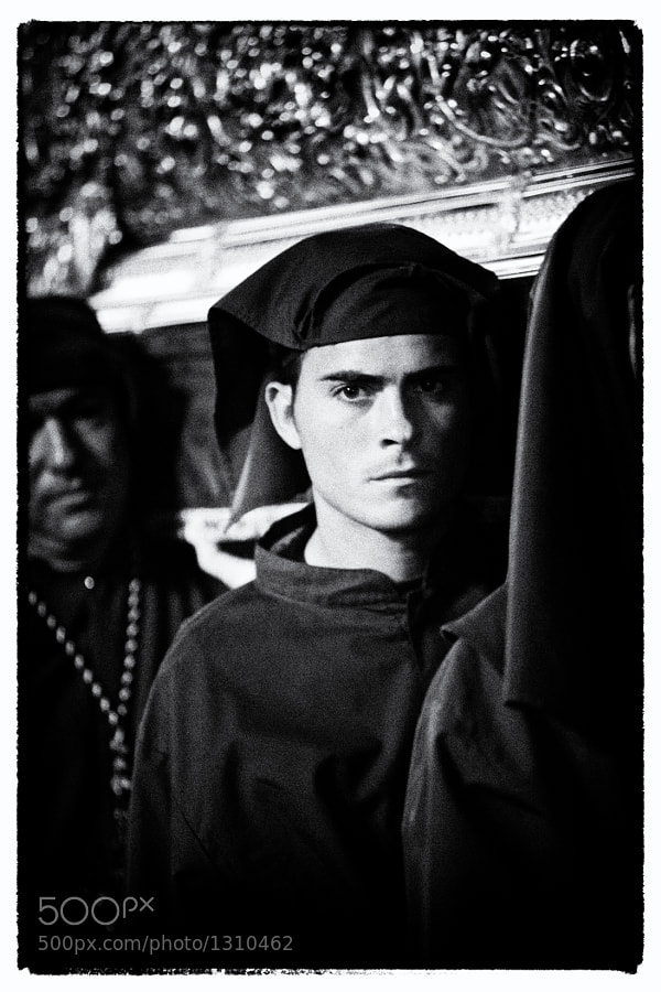 Taken during the Good Friday Semana Santa procession in Andalusia. 