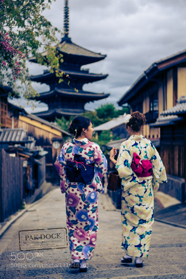 A walk through Higashiyama. Kyoto