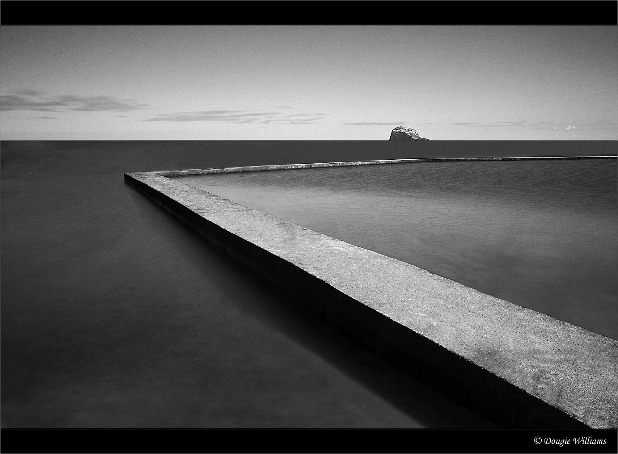 Photograph North Berwick Pool Mono by Dougie Williams on 500px