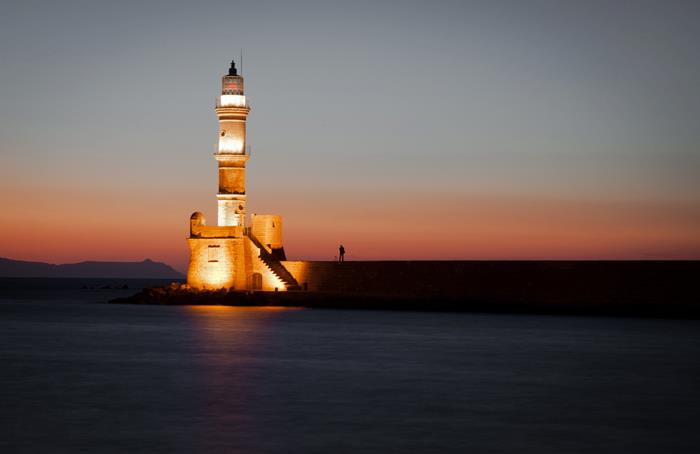 Photograph Chania Lighthouse by Caroline Burley on 500px
