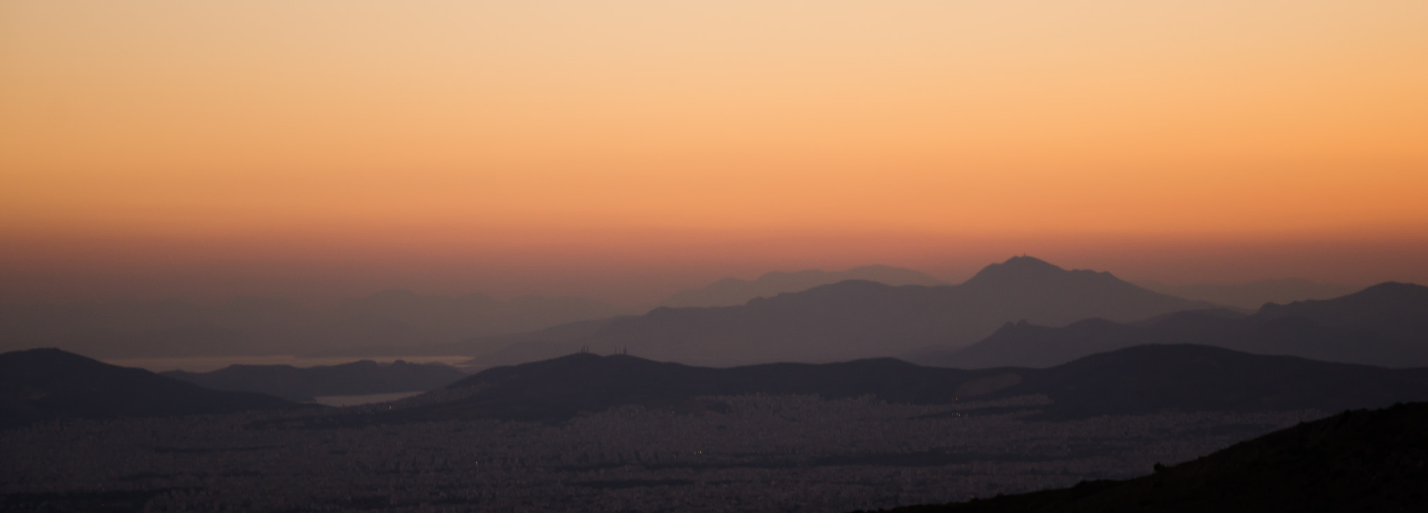 Photograph Athens sunset by Vaggelis Michopoulos on 500px