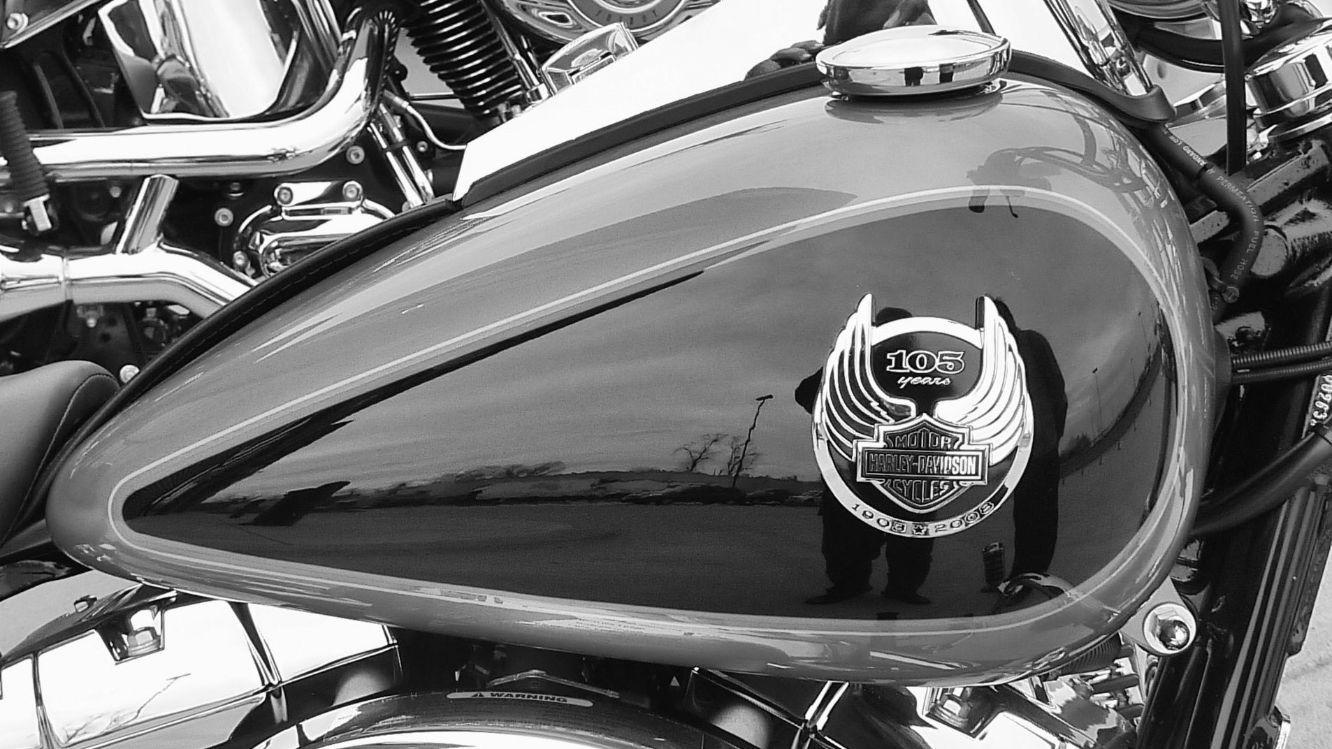 Photograph Harley (Reflection) by Sunil Mehta on 500px