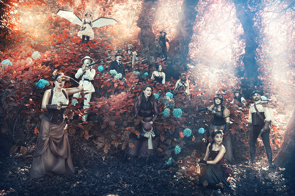 Photograph The expedition: The new world by Rebeca  Saray on 500px