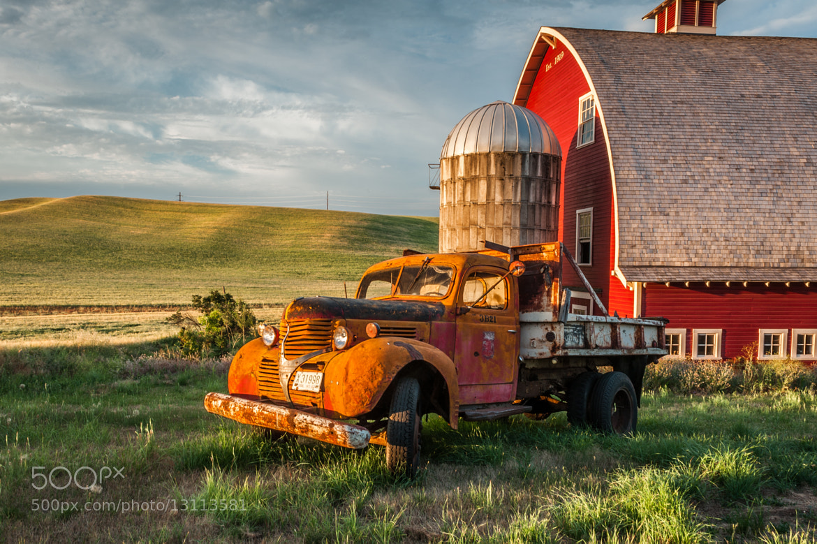 Photograph Morning on Palouse farm by Mike Walker on 500px