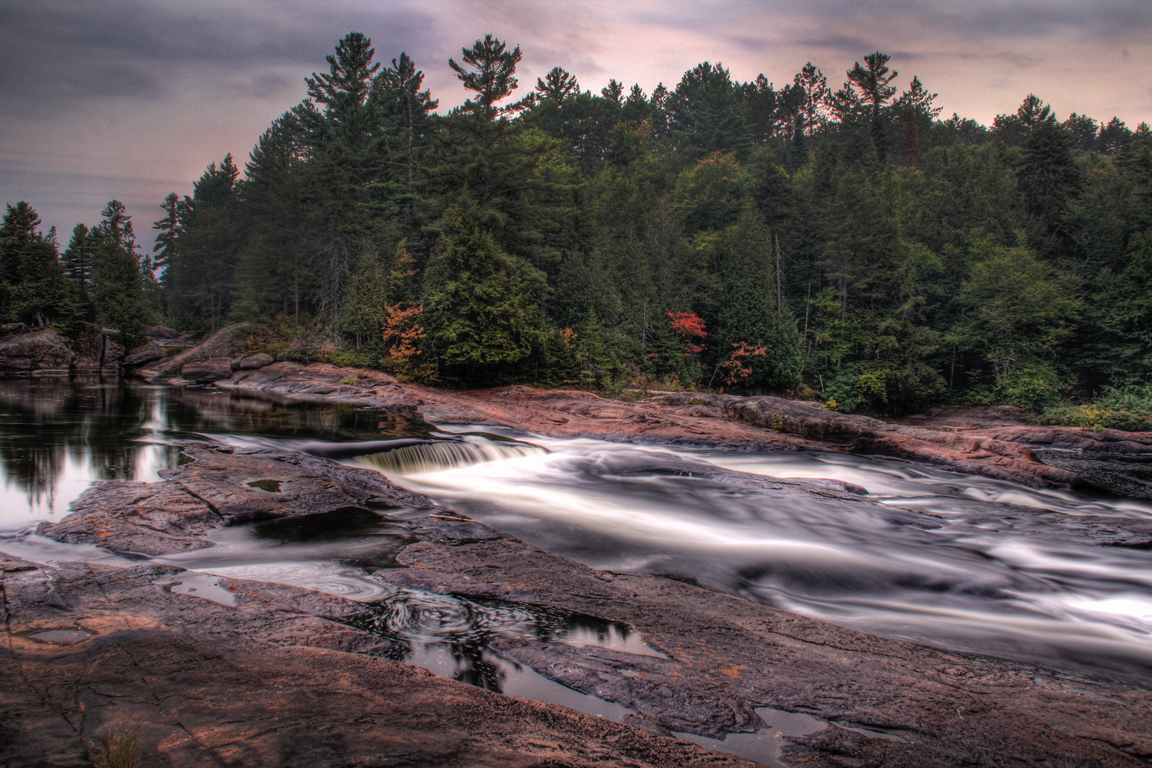 Photograph The falls at the cabin by Michael B. Stuart on 500px