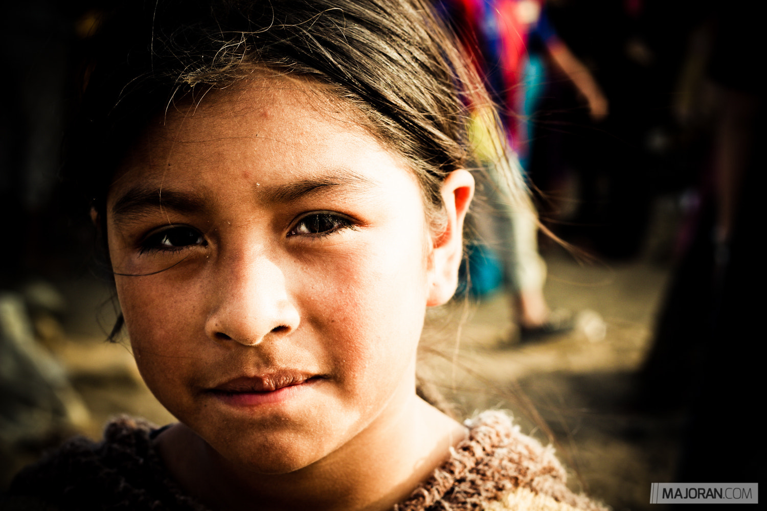 Photograph Girl from the Dump by Ray Majoran on 500px