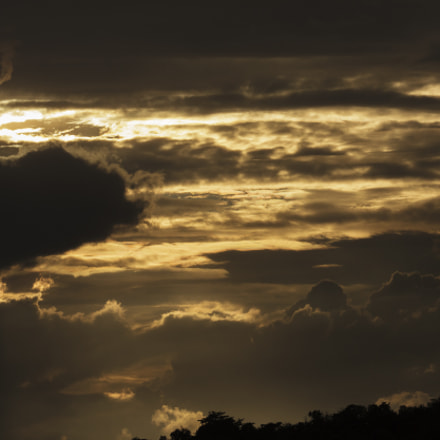 Sunset, Canon EOS 5D MARK II, Canon EF 200-400mm f/4L IS USM