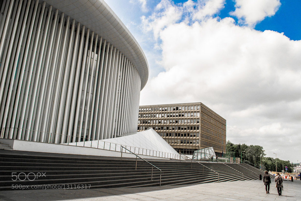 Photograph Philharmonie Luxembourg by Zaheer Malak on 500px