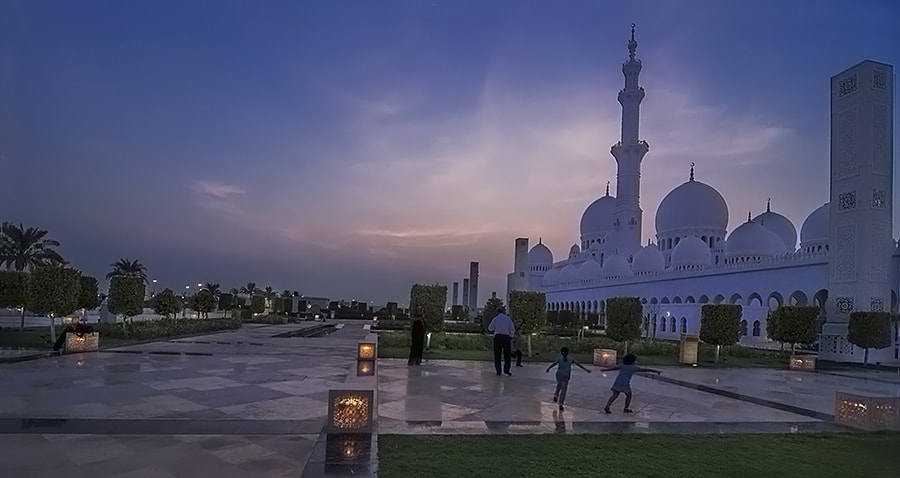 Photograph Grand Mosque by Amir Omer on 500px
