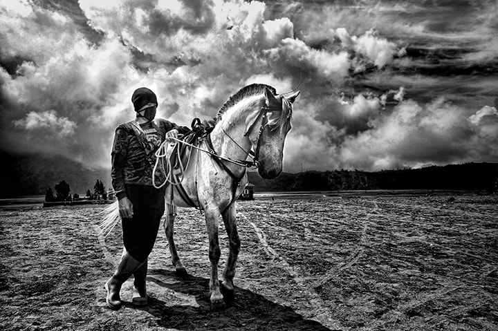Photograph Bromo horse rider by Firman Afrianto on 500px