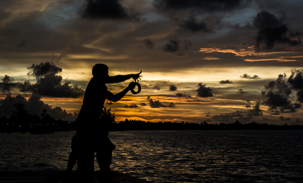 Photograph Fishing the sunset by Xiomi Abad on 500px