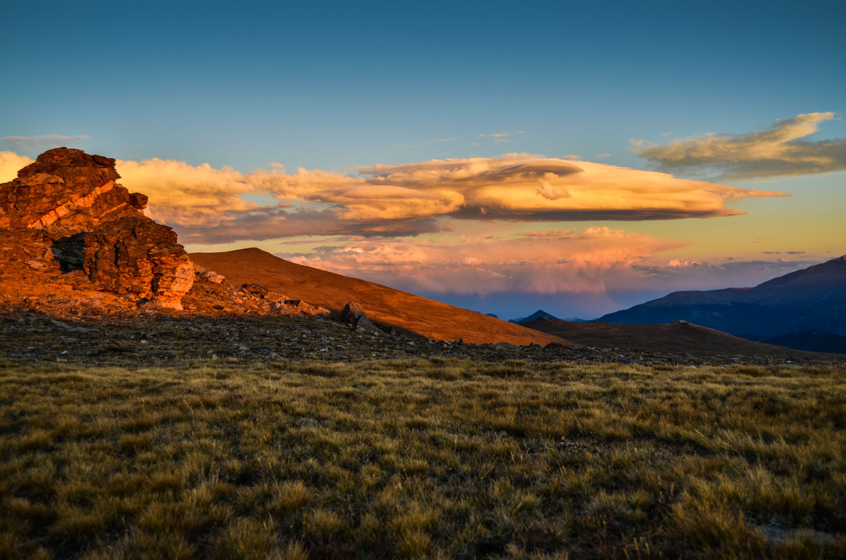 Photograph Rocky Mountain Sunset 1 by Dave Tee on 500px