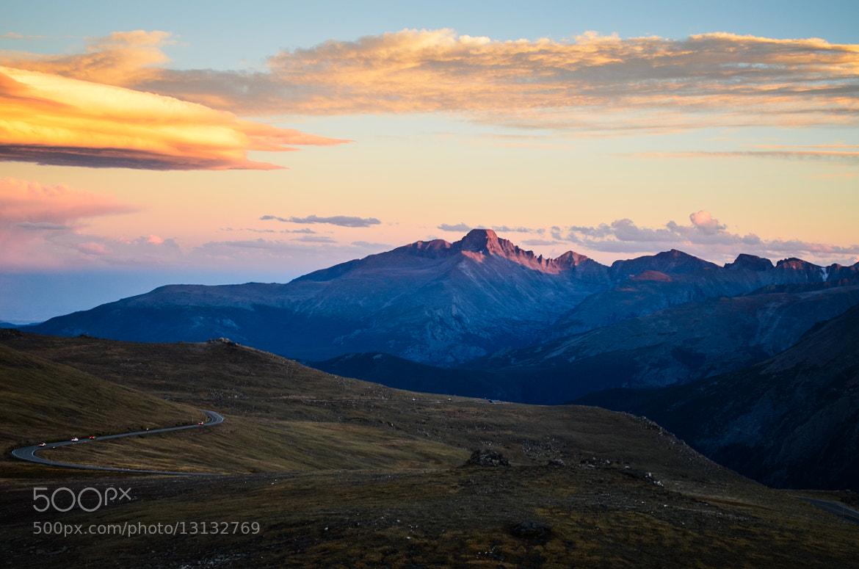 Photograph Rocky Mountain Sunset 3 by David Tomanovich on 500px