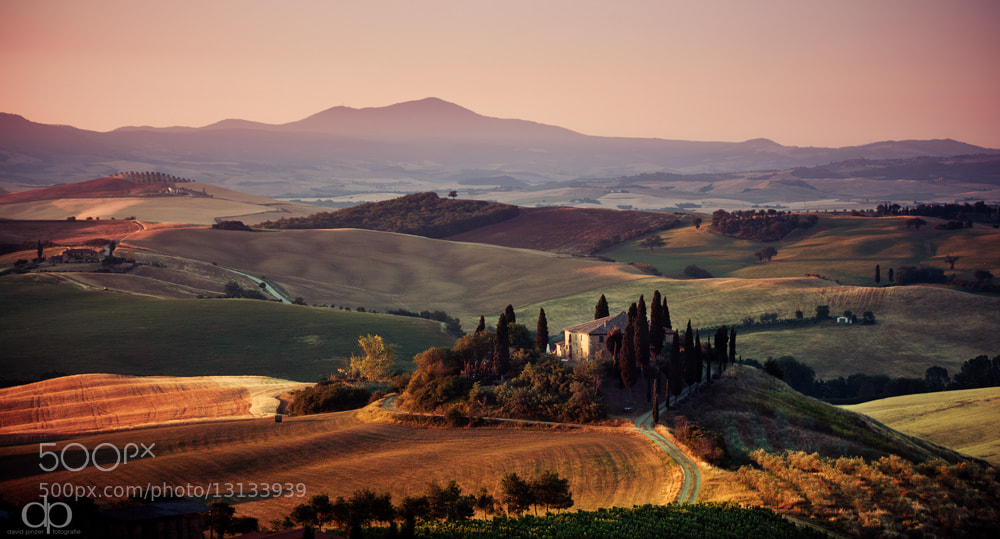 Photograph Sunrise in Tuscany by David Pinzer on 500px