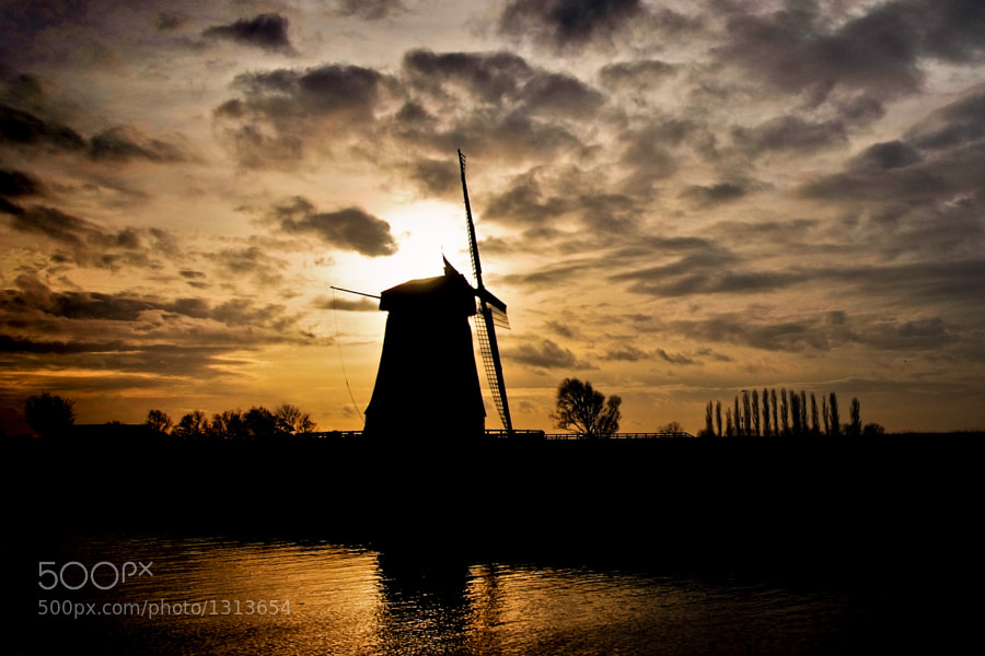Photograph Windmill by Gorazd Golob on 500px