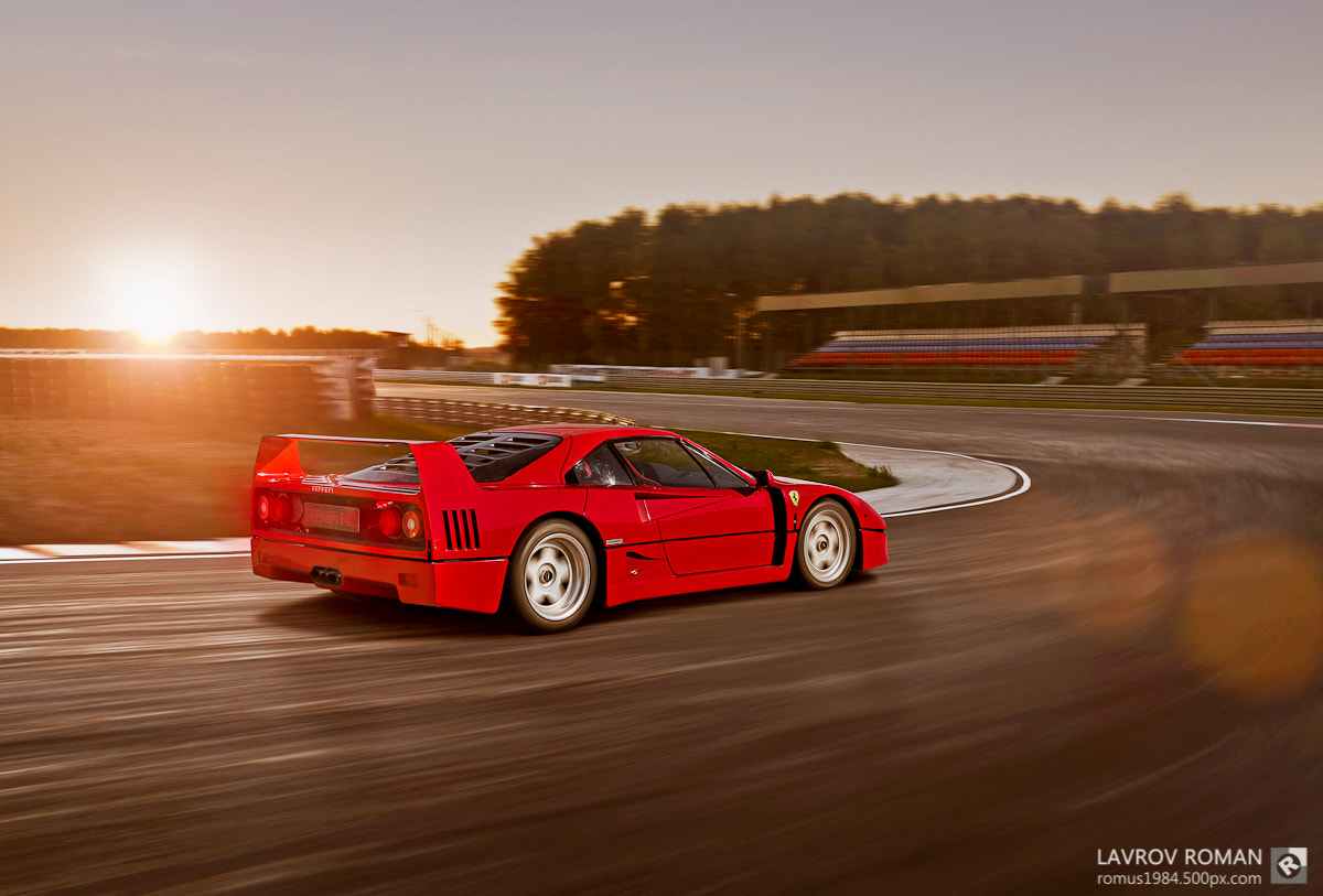 Photograph  Ferrari F40 by Roman Lavrov on 500px
