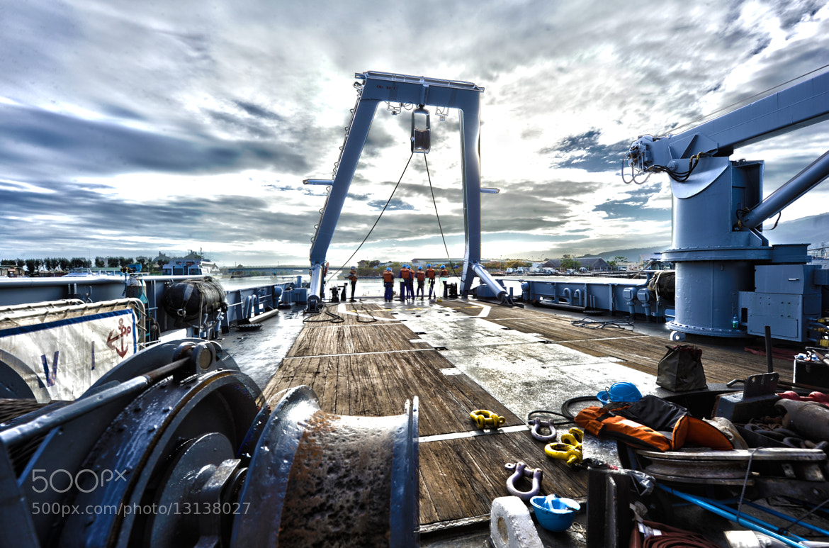 Photograph Men at Work on Boat by Brest Report Stéphane on 500px