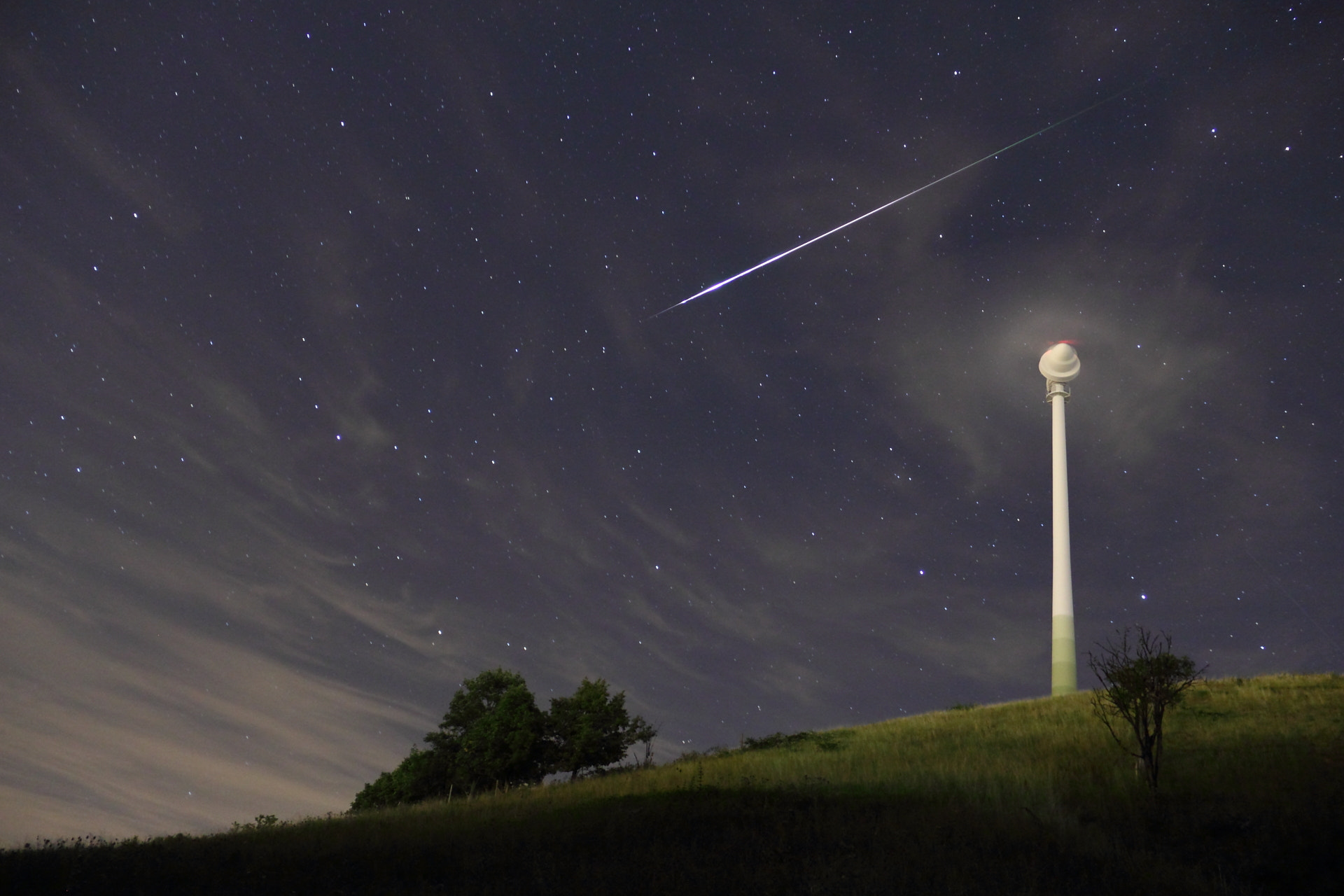 Photograph shooting star by 8rcturus on 500px