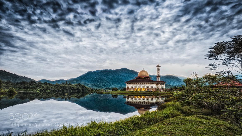 Photograph Darul Quran Mosque, Selangor, Malaysia by Abdullah Zahri Abdul Azizis on 500px