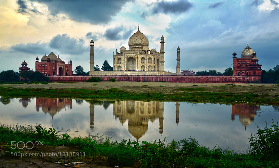 Taj Mahal in Agra is one of the most visited attractions in the world