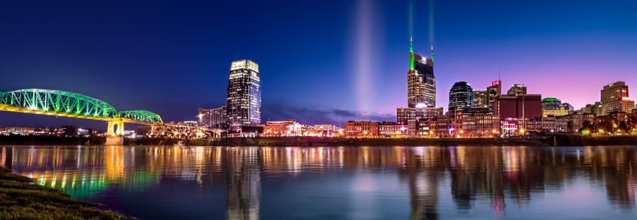 Nashville in the evening by Jonathan Ross on 500px.com