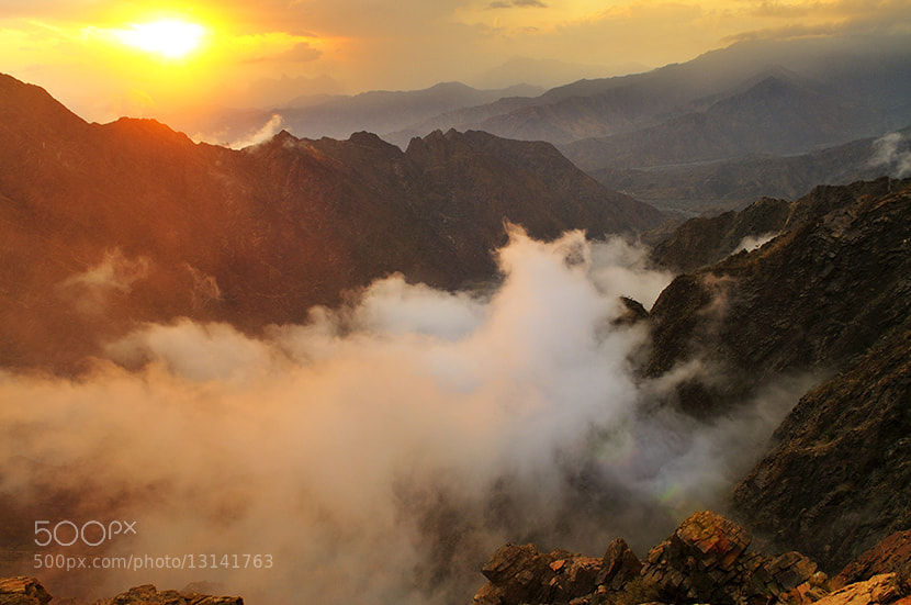 "Photograph """"  Magic sunset  """" by almalki abdullrahman on 500px"