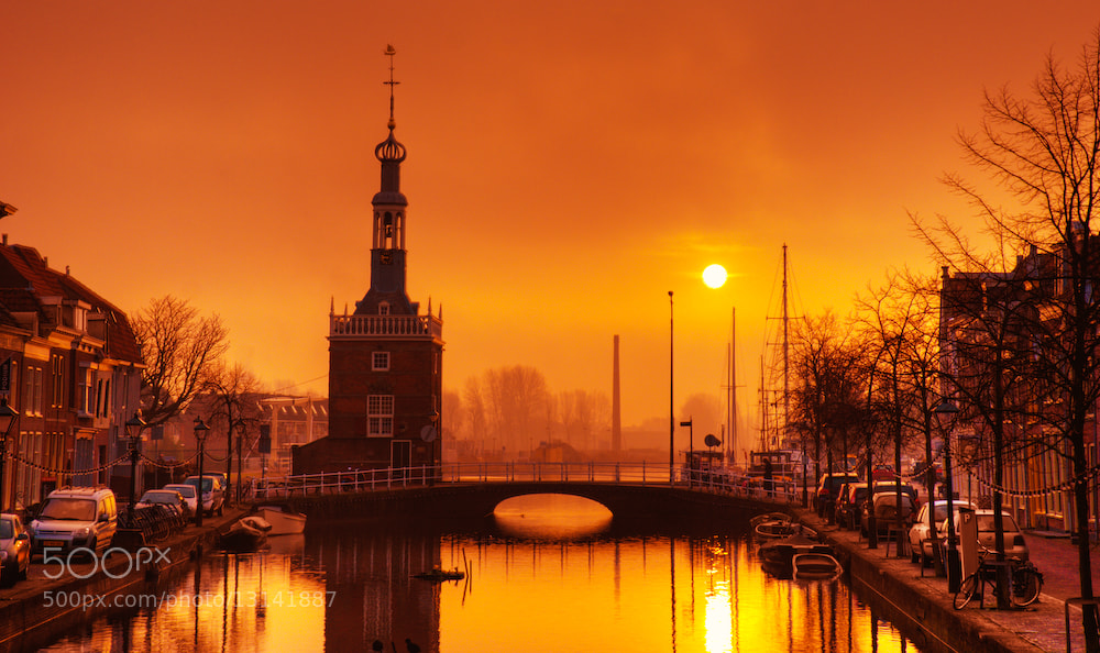 Photograph Daybreak in Alkmaar by Allard Schager on 500px