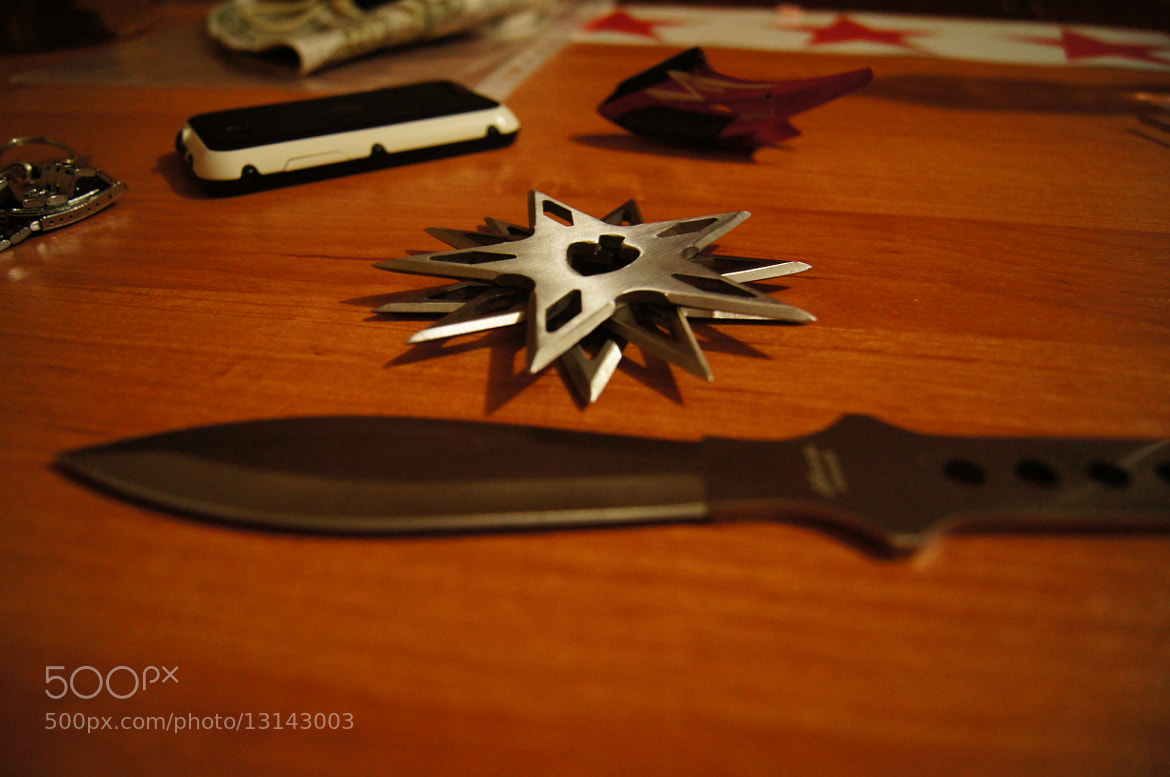 Photograph knives and shurikens by Oleg Chu on 500px