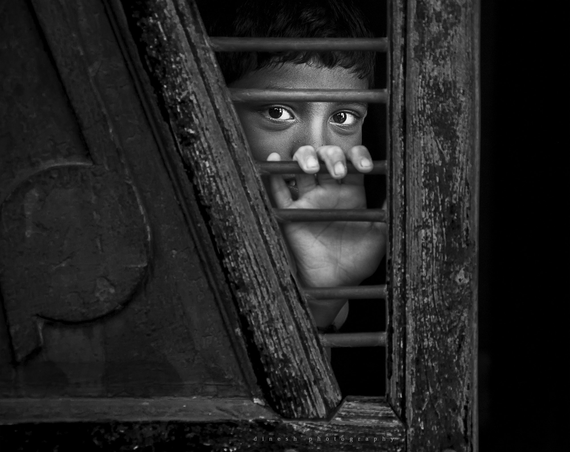 Photograph Waiting in the dark by dinesh babu on 500px