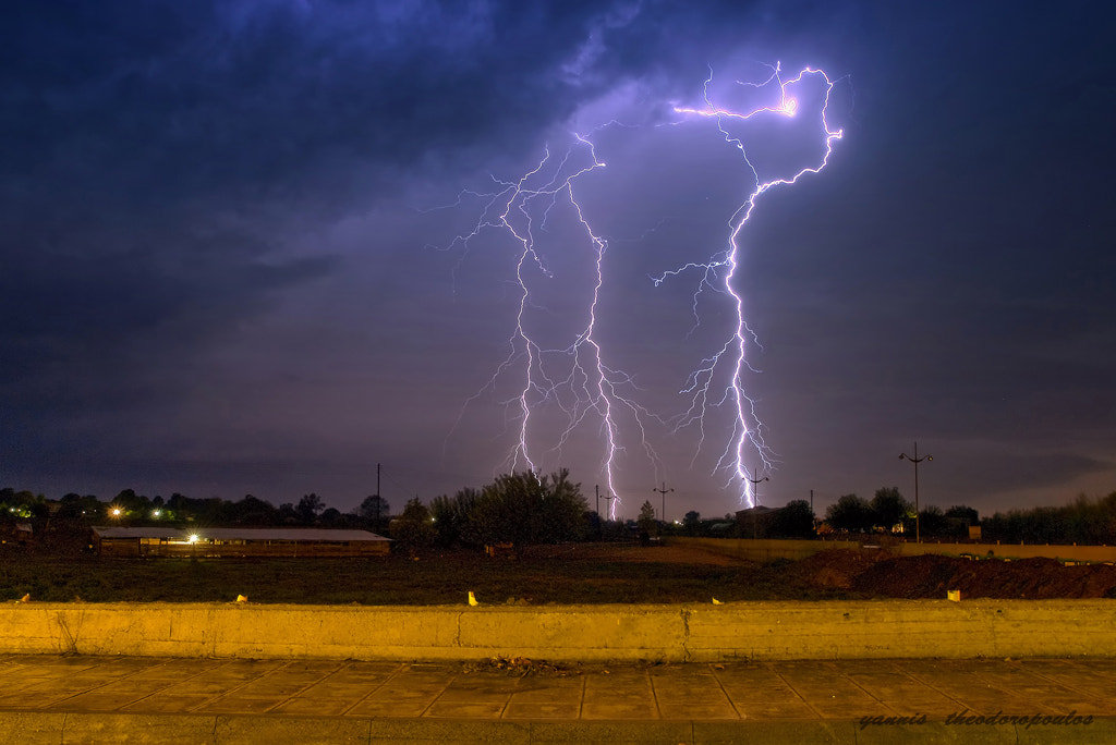 Photograph Thunder by yiannis theodoropoulos on 500px