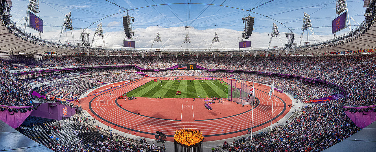 Photograph panorama olympic stadion london 2012 by Kenny Beele on 500px