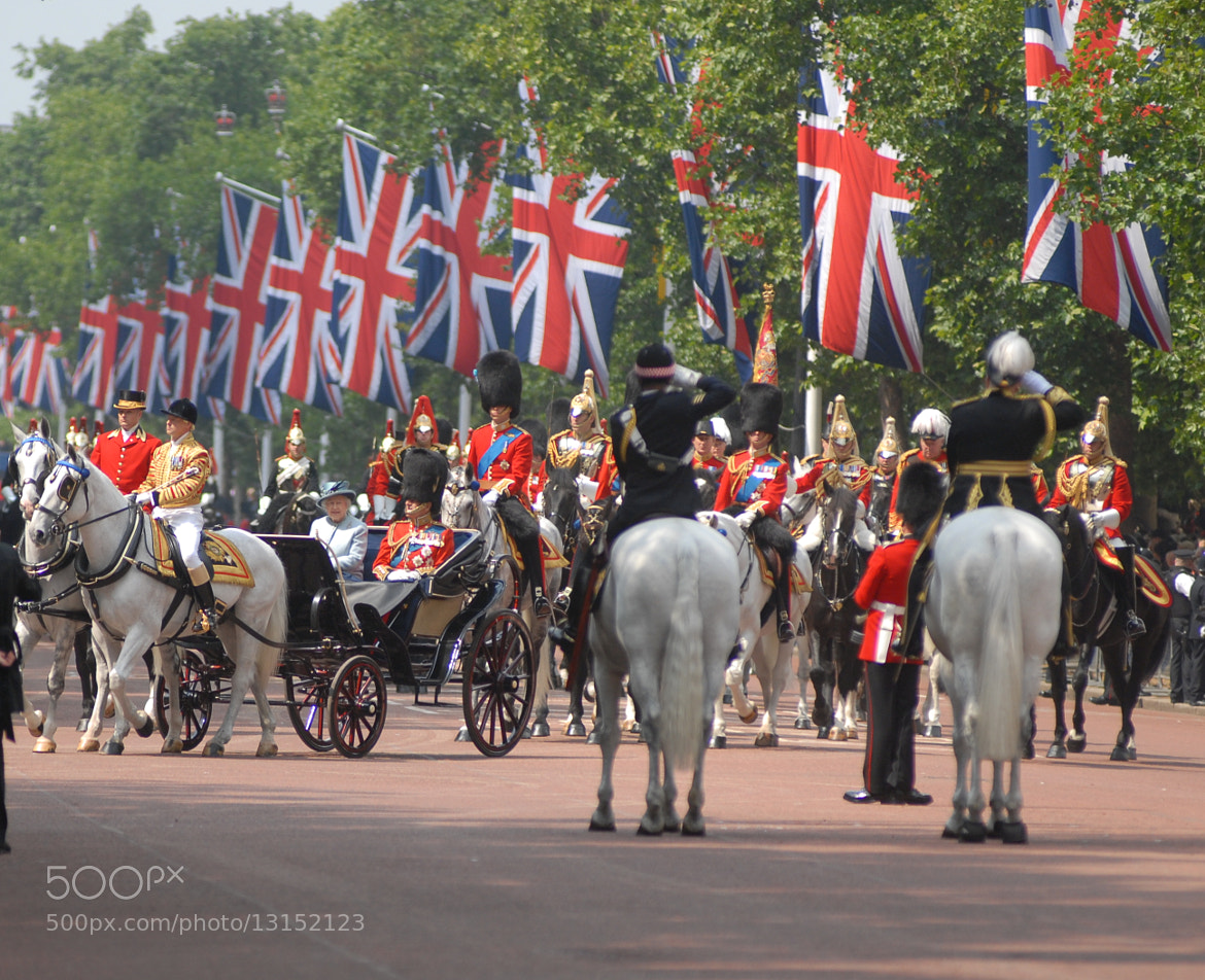 Photograph Royal party at trooping the colour by graham mitchell on 500px