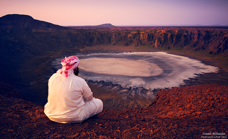 Photograph Wahbah Crater  by Osamh Alshaalan on 500px