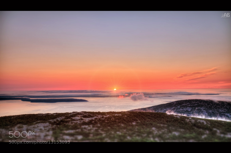 Photograph Acadia Sunrise by Alexandra (Petrova) & Bharath Wootla on 500px