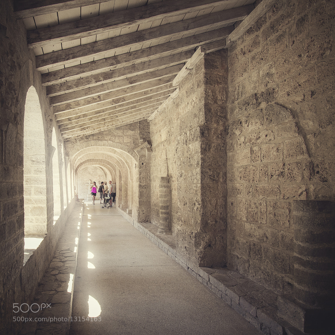 Photograph A cloister by Olivier GARAND on 500px