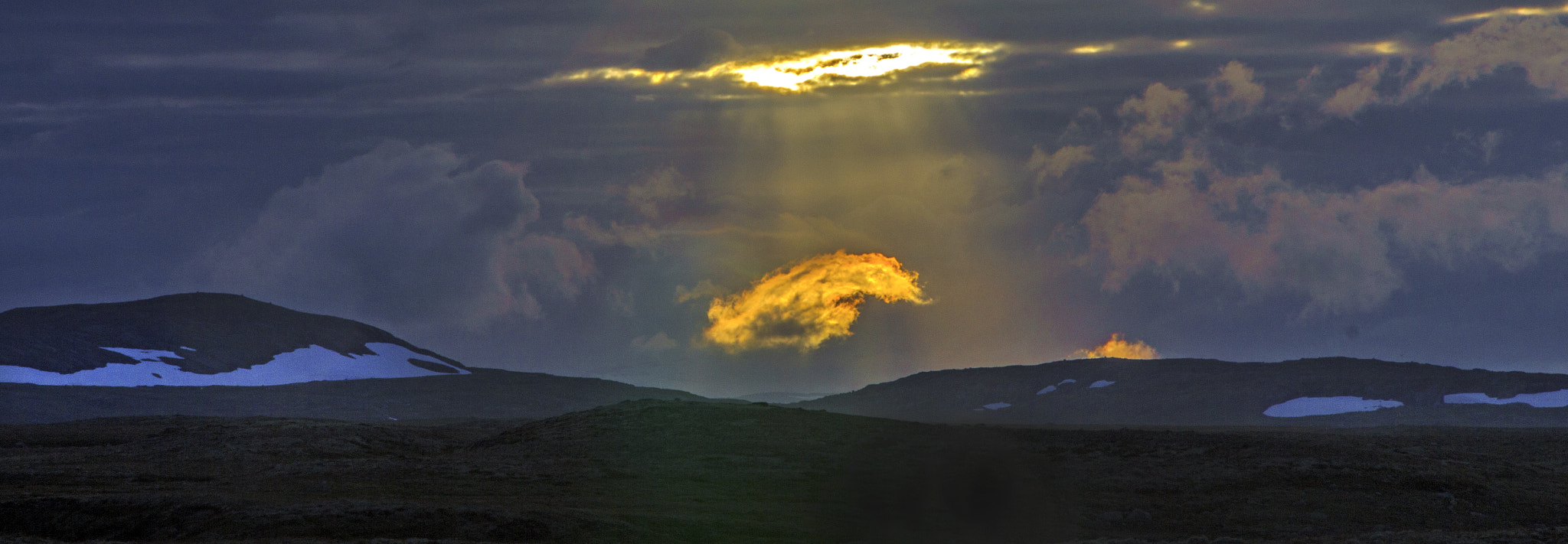 Photograph Burning cloud by Terje Thorsen on 500px