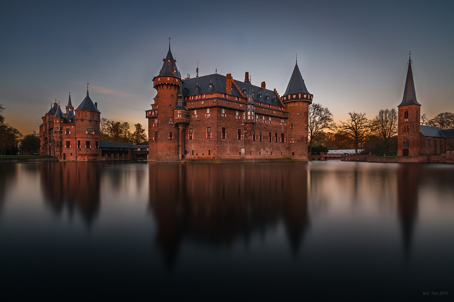 Sunset at Castle de Haar by Marcel Tuit on 500px.com