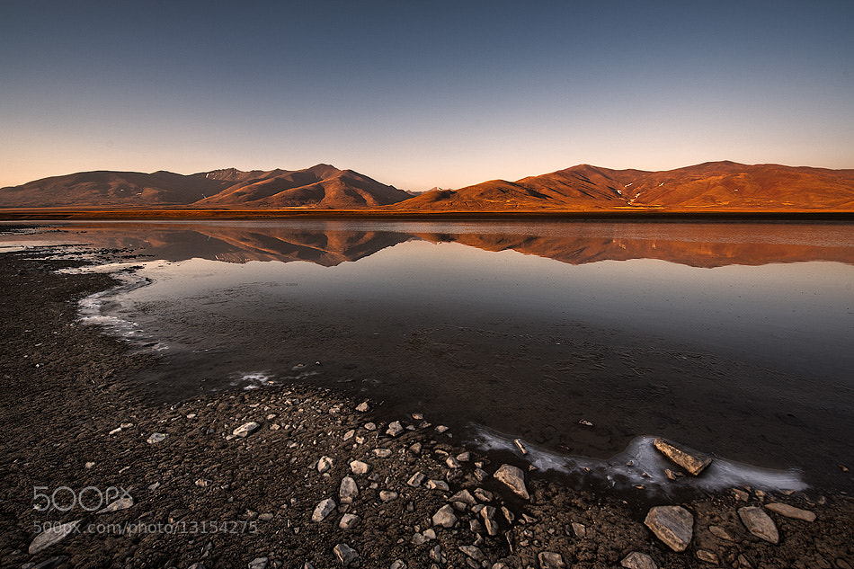 Photograph Tibetan lake by Оля Шатрова on 500px