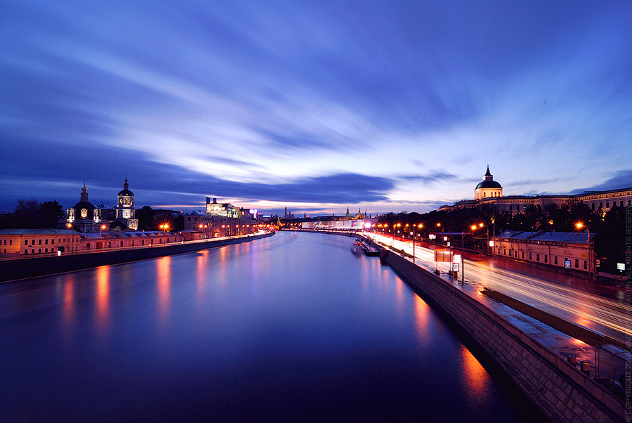Photograph Moscow-river by Andrey Permitin on 500px