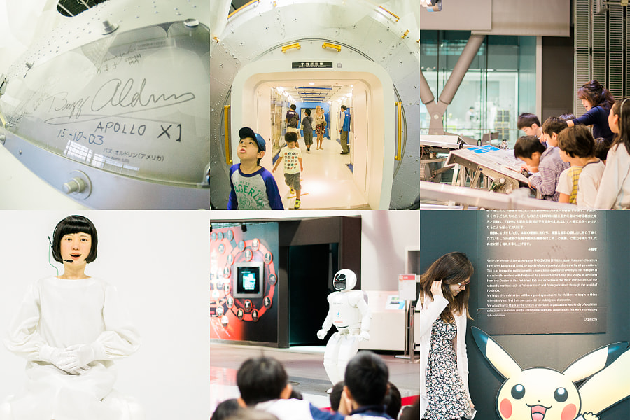 The National Museum of Emerging Science and Innovation also known as Miraikan