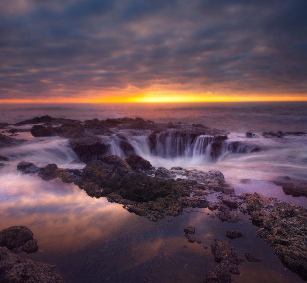 Photograph Thor's Well - Oregon Coast by Kevin McNeal on 500px