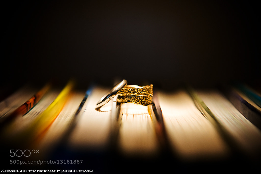 Photograph Wedding Rings by Alex Fishi on 500px