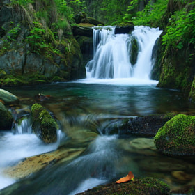 Small waterfall on the Buta river by Plosz Zoltán (pgyz)) on 500px.com