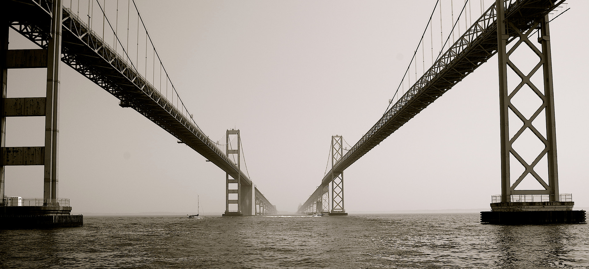 Photograph Chesapeake Bay Bridge by Brendan Lilly on 500px