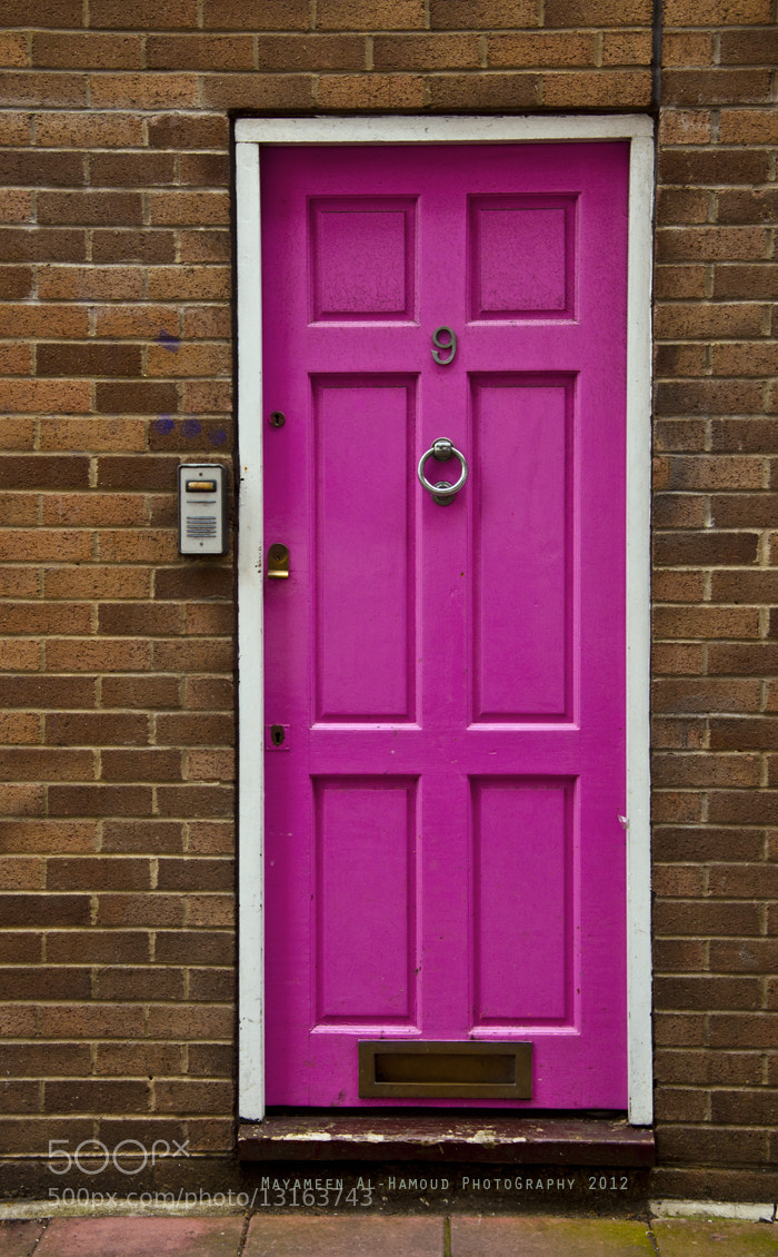 Photograph Pink Door :) by Mayameen AlHamoud on 500px