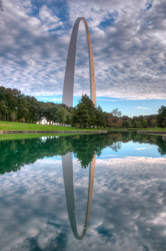 My inaugural photo on 500px must be true to my city:  the Jefferson National Expansion Memorial.  