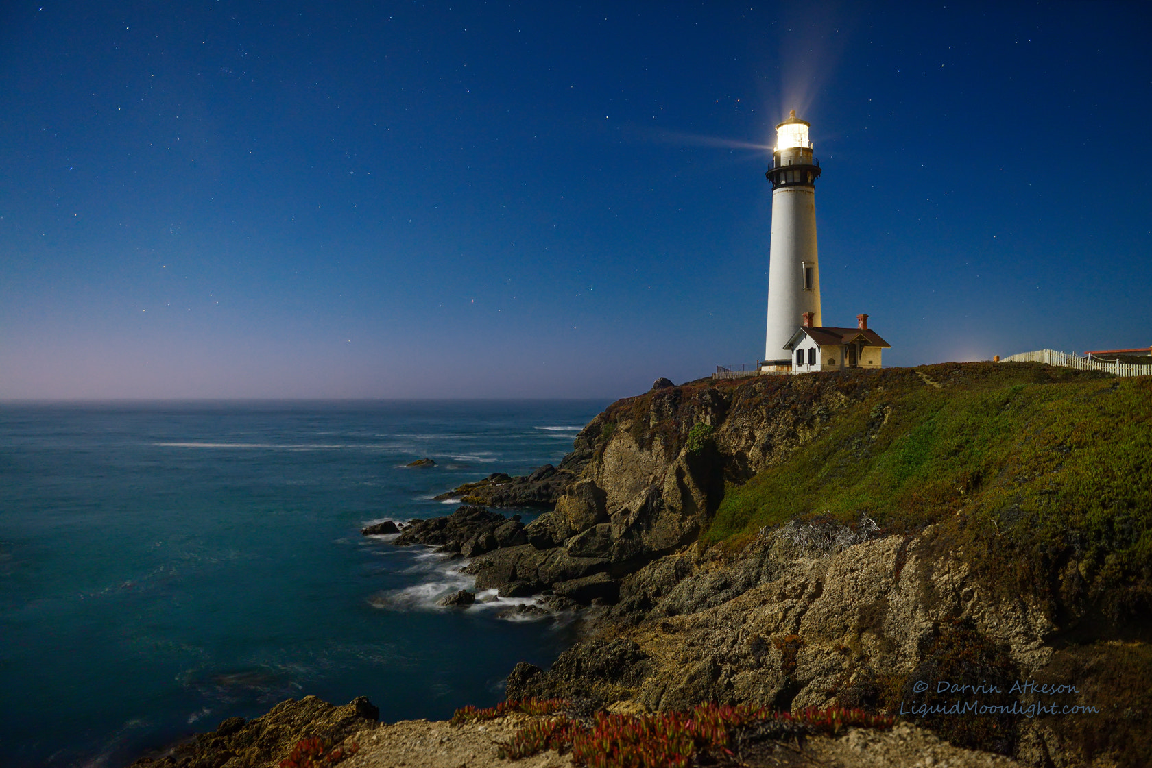 Photograph Crystal Clear - Pigeon Point Lighthouse  by Darvin Atkeson on 500px
