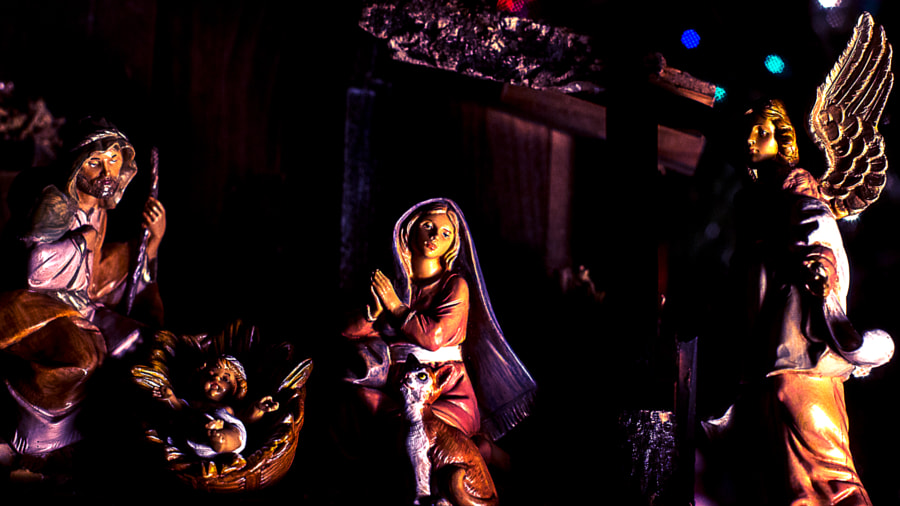 Nativity (Rembrant Lighting) by Jeff Carter on 500px.com