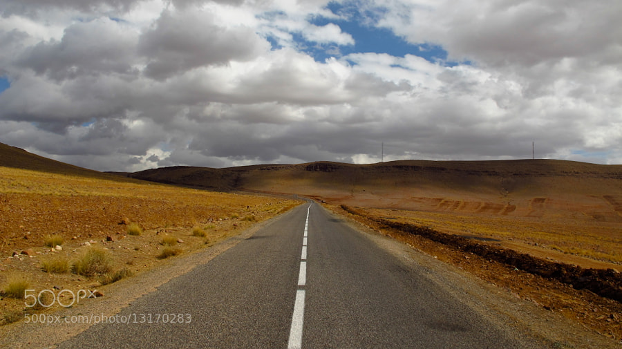 ON THE ROAD, MOROCCO