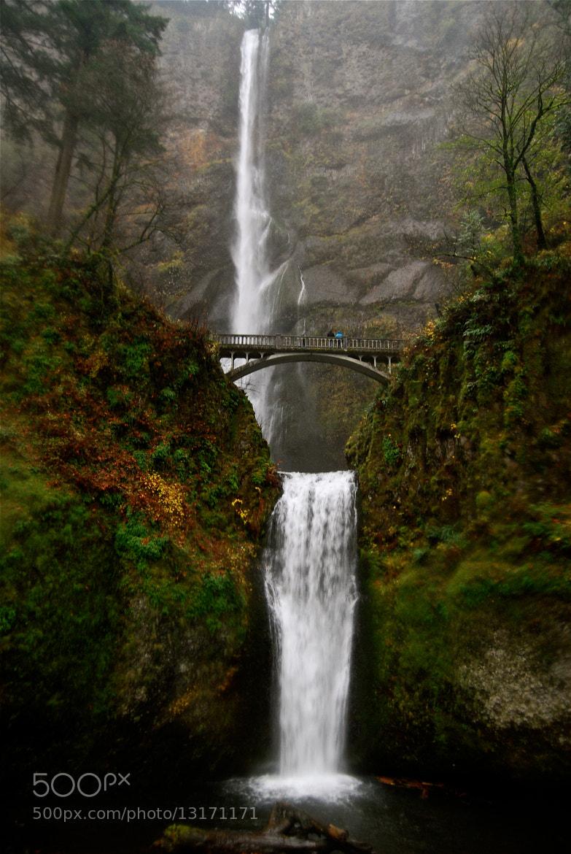 Photograph Multnomah Falls - Oregon by Brendan Lilly on 500px